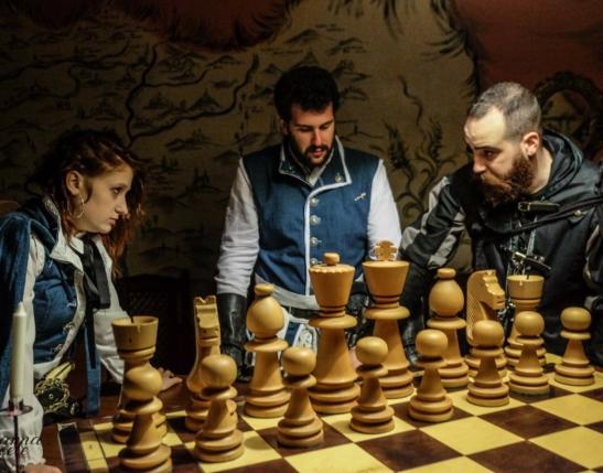 sala degli scacchi
